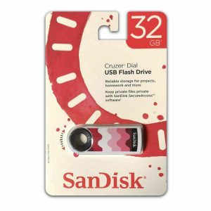 Sandisk USB FlashDrive 32GB Cruzer Dial Blister SDCZ57-032G-T4RW
