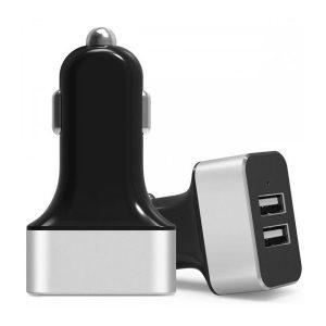 USB 12V Auto Ladegerät DUAL